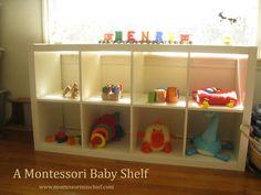 Your Baby's First Montessori Shelf