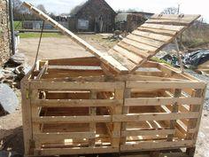 Riciclare pallet : Come costruire un pollaio