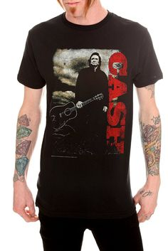 Music | T-Shirts | Clothing  JOHNNY CASH