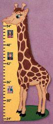 Giraffe Growth Chart Woodworking Plan