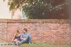 red apple tree photography: Will + Jessie Engagement