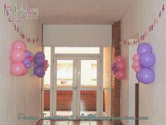 Decoración Fiesta Rapunzel www.happy-occasions.com