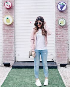 Find images and videos about look and nah cardoso on we heart it - the app to get lost in what you love. Fashion Moda, Girl Fashion, Fashion Looks, Fashion Outfits, Cool Outfits, Summer Outfits, Casual Outfits, Look 2017, College Outfits