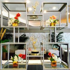The Emmys, Table Decorations, Floral, Furniture, Home Decor, Decoration Home, Room Decor, Flowers, Home Furnishings