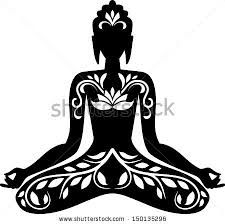 Google Image Result for http://thumb9.shutterstock.com/display_pic_with_logo/1779089/150135296/stock-vector-silhouette-of-buddha-in-lotus-po...