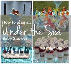 Great tips for how to Plan an Under the Sea Boy Baby Shower - www.spaceshipsandlaserbeams.com