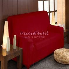 Funda Elástica Sofá Burdeos, modelo TUNEZ, adaptable a cualquier sofá, renueva y protege la tapicería del sofá, máxima calidad, tejido muy resistente, lavabl...