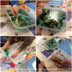 Liquids and Solids and An Oil Spill Activity! This is a great activity for teaching about ecosystems, needs of living things and even about liquids! It's also a great Earth Day activity!