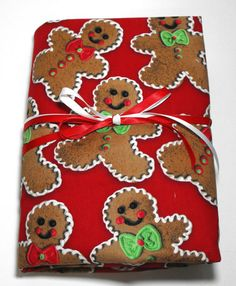 Gingerbread Man Crib or Toddler Size Fitted Sheet by KidsSheets, $24.00