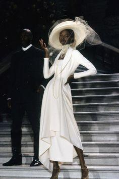 Debra Shaw at Christian Dior Haute Couture S/S 1998