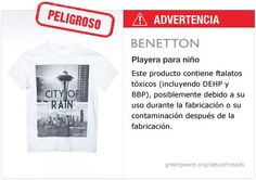 Benetton Playera   #Detox #Fashion