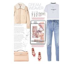 """""""Untitled #2611"""" by amimcqueen ❤ liked on Polyvore featuring Prada, See by Chloé, Citizens of Humanity, Hermès, WithChic, Blume, Wet Seal and Threshold"""
