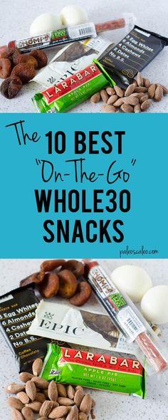 10 Best Whole30 Snacks | PaleoScaleo.com