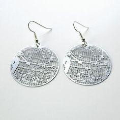 Philadelphia city grid earrings now featured on Fab.