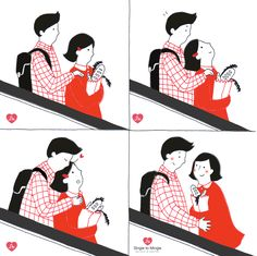 couple in love illustration Love Illustration, Couples In Love, Doodles, Marriage, Cards, Cute Things, Display, Backgrounds, Valentines Day Weddings