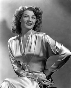 Rita Hayworth in 1945 Born Margarita Carmen Cansino October 17, 1918 Brooklyn, New York, U.S. Died	May 14, 1987 (aged 68) New York City, New York, U.S. Cause of death Alzheimer's disease Resting place Holy Cross Cemetery, Culver City Occupation	Actress, dancer Years active	 Spouse(s)	 Edward C. Judson Orson Welles  Prince Aly Khan  Dick Haymes, James Hill  Children,Rebecca Welles  Yasmin Aga Khan  Parents	Eduardo Cansino, Sr. Volga Hayworth - Spaniard  Relatives Eduardo Cansino, Jr…