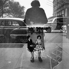 Be Woman Be Creative Vivian #Maier #fotografa, autoritratto #bewomanbecreative