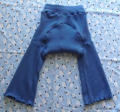 Extra Large XL 100% cashmere wool diaper covers or trainers $14.50