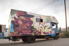 In 2011, I already told you about Aryz, this talented Spanish street artist and illustrator who attracted a lot of attention in recent years. You can now fin