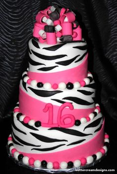 Best zebra birthday cakes | Chickabug