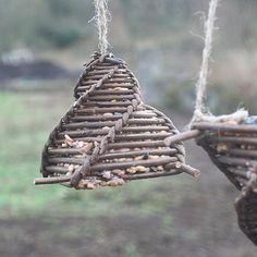 Hand Woven Willow Bird Feeder