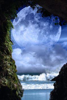 Stunning Super Moon <3