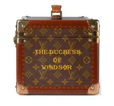 Duchess of Windsor Louis Vuitton luggage