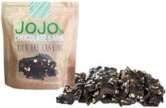 JOJO's, Guilt Free 70% Dark Chocolate Bark, All Natural Protein Raw Nuts and Dried Cranberries, 1.2oz Bars, 7 Count -- You can get additional details at the image link.