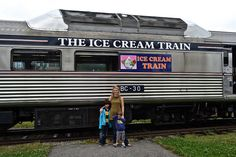Hop on the ice cream train tour! - Newport, RI  Trains + Ice Cream = Best day ever!      #VisitRhodeIsland