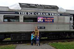 Hop on the ice cream train tour! - Newport, RI  Trains + Ice Cream = Best day ever!      #VisitRhodeIsland