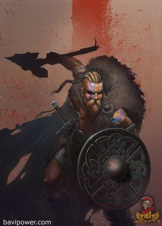 Ragnar Lothbrok, a viking who's name is know in Scandinavia, after defeating the earl of his town. Ragnar is very strategic and knows how to handle a sword in battle. Ragnar who be a very good person to base my main character of as he is a very able hero. Viking Power, Rune Viking, Viking Art, Viking Warrior Men, Ragnar Lothbrok, Character Concept, Character Art, Concept Art, Character Design