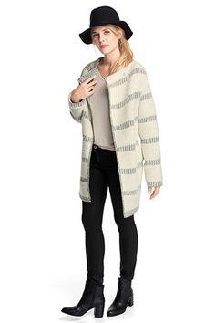Esprit - Oversize-Jacke aus warmem Woll-Mix im Online Shop kaufen