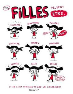 Les stéréotypes vus par Elise Gravel - On est bien chez laurette Elise Gravel, Education Positive, Funny Illustration, Illustrations, Parenting Classes, Learn French, Haha Funny, Kids Learning, Decir No