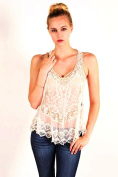 Darby Lace Top