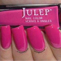 Julep - Raegan, swatched on sticker, nail stick, and 1 accent nail, $4--swapped Sandie