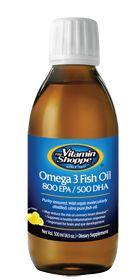 the Vitamin Shoppe                  Omega 3 Fish Oil 800 Epa / 500 Dha 1500 MG, 16.9 Fluid Ounces , Liquid #vitaminshoppecontest @The Vitamin Shoppe