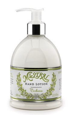 Mistral Soft-Touch Hand Lotion, Verbena, 13.53 Fluid Ounce by Mistral, http://www.amazon.com/dp/B00743IQXY/ref=cm_sw_r_pi_dp_ch5ssb0DXGET2