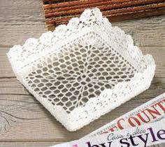 Lana e cotone maglia e uncinetto cestini all 39 uncinetto - Cestini all uncinetto per il bagno ...