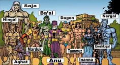 Gods around the world: Mesopotamia