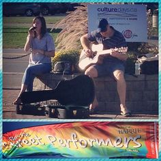 What a beautiful day of #sunshine for the @cityofbarrie #Barrie's #Busking Out #culturedays2015 #DowntownBarrie #livemusic #streetperformer #buskers #talent
