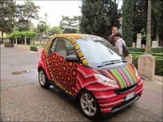 Welcome To The Art Of Yarn Bombing - Ned Hardy