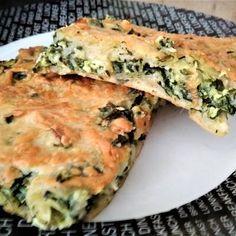 Σπανακόπιτα χωρίς φύλλο Spinach Pie, Spinach Recipes, Bread Oven, Savory Muffins, Good Food, Yummy Food, Easy Pie, Cooking Recipes, Healthy Recipes