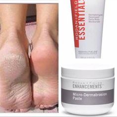 Treat your feet with Rodan + Fields! Microdermabrasion Paste + Moisturizer Body Lotion! Message me today for more info on how to get 10% and free shipping!