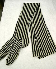 Silk stockings from 1890 - #vintage