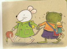 Op stap  Naar huis gaan Ernest And Celestine, Petite Section, Education, Mice, Illustrations, Fictional Characters, Speech Language Therapy, Expressionism, Concept