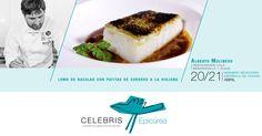 Los días 20 y 21 de abril, disfruta en Celebris Epicúrea de la cocina del Restaurante Lola sin moverte de Zaragoza. Reserva ya tu mesa y no te pierdas nuestra cita con Alberto Molinero.