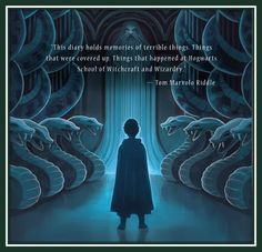 New back cover art for Harry Potter and the Chamber of Secrets