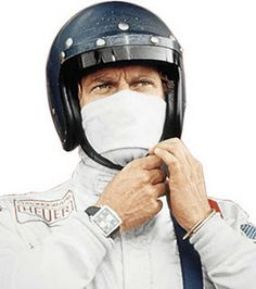 Sartorially Inclined: The Watches of Steve McQueen > Heuer Monaco