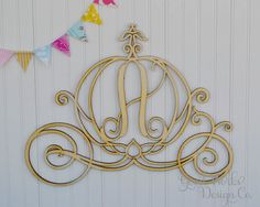Hey, I found this really awesome Etsy listing at https://www.etsy.com/listing/240808184/cinderella-princess-carriage-monogram