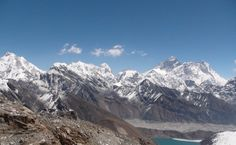 first view on Everest.
